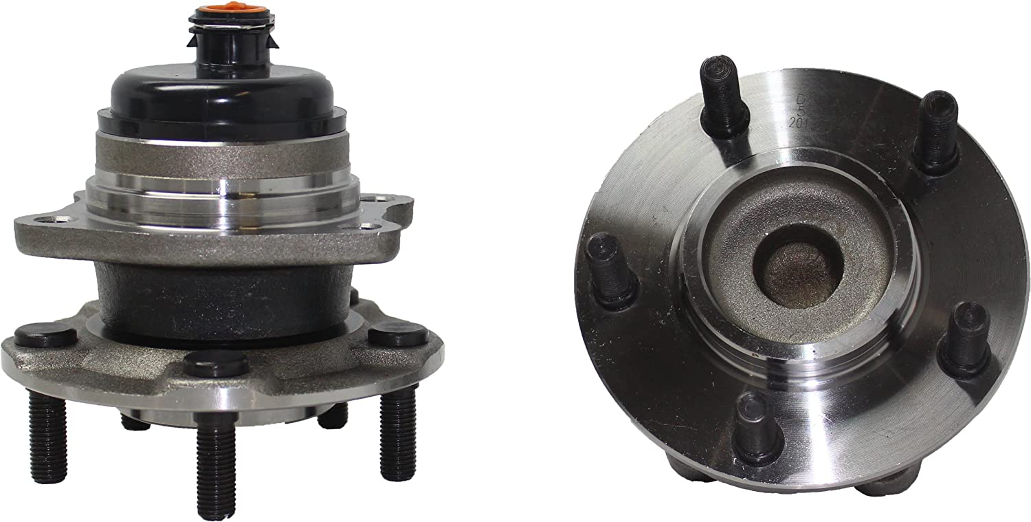 Amazon.com: Brand New (Both) Rear Wheel Hub and Bearing Assembly fits Caravan, Grand Caravan (FWD), Town & Country (FWD) 5 Lug W/ABS (Pair) 512169 x2: ...