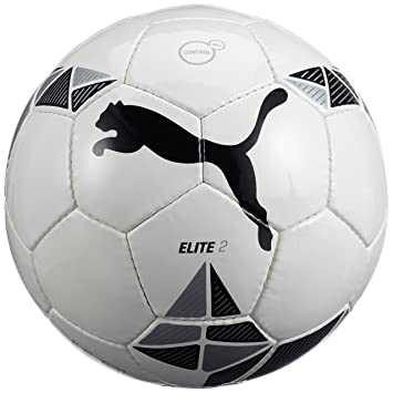 Puma 5 082429 01 Elite 2 - Pelota de fútbol, Color Blanco, Negro y ...