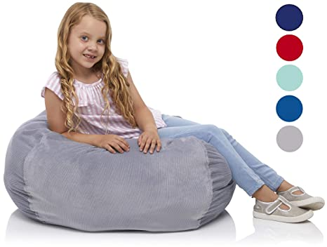 Remarkable Amazon Com Delmach Stuffed Animal Storage Bean Bag Chair Camellatalisay Diy Chair Ideas Camellatalisaycom