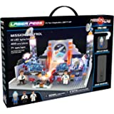 Laser Pegs Mission Control Light-Up Building Block Playset (400 Piece) The First Lighted Construction Toy to Ignite Your Child's Creativity; It's Your Imagination, Light It Up