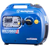 Westinghouse WH2200iXLT Portable Inverter Generator - 1800 Running Watts and 2200 Starting Watts - Gas Powered - CARB Compliant