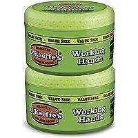 O'Keeffe's Working Hands - Crema de manos tamaño económico, Paquete-de-2