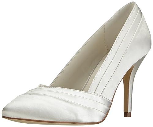 bba825f40e7b4 MENBUR Mare 5109 - Zapatos clásicos de satén para mujer  Amazon.es  Zapatos  y complementos