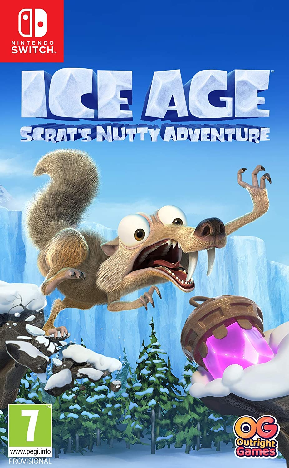 Ice Age: Scrats Nutty Adventure: Amazon.es: Videojuegos