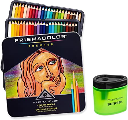 Soft Thick Core Pencils a Prismacolor 3598T Premier Soft Core Colored Pencils