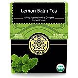 Organic Lemon Balm Tea - Kosher, Caffeine-Free, GMO-Free - 18 Bleach-Free Tea Bags