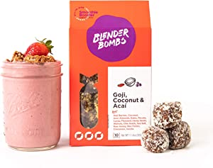 Blender Bombs: Goji, Coconut, Acai