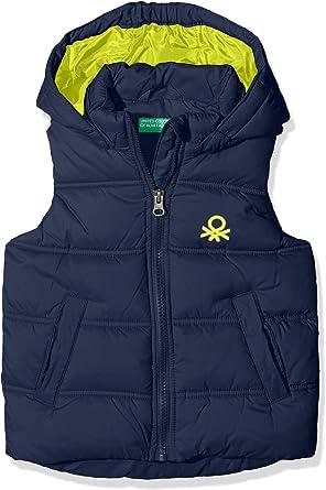 término análogo Autorización martillo  United Colors of Benetton 2WU05G050 Chaleco, Azul (Navy), 3-4 años (tamaño  del Fabricante XXSS) para Niños: Amazon.es: Ropa y accesorios