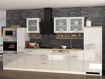 Küchenzeile Einbauküche Küchenblock Kochnische Küche Küchen-Set ...