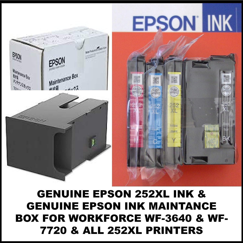 Epson WF-3620, WF-3530, WF-3540, WF-3520, WF-3640: Amazon.es ...