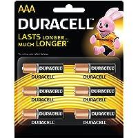 Duracell R 03 AAA Alkaline Long Lasting Batteries (Pack of 6)
