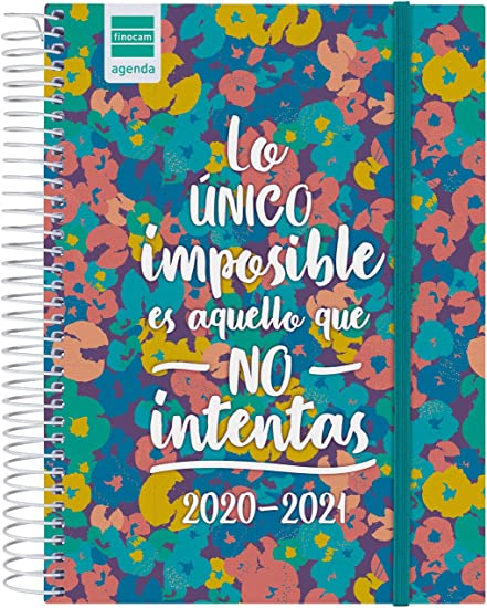 Finocam - Agenda Curso 2020-2021 Cuarto - 4º - 155 x 212 (Sobremesa) 1 Día Página Secundaria Imposible Español: Amazon.es: Oficina y papelería
