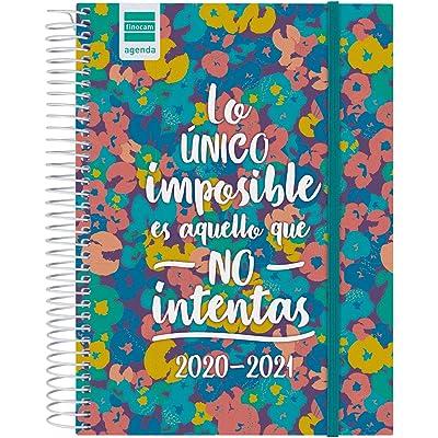 Finocam - Agenda Curso 2020-2021 Cuarto - 4º - 155 x 212 (Sobremesa) 1 Día Página Secundaria Imposible Español