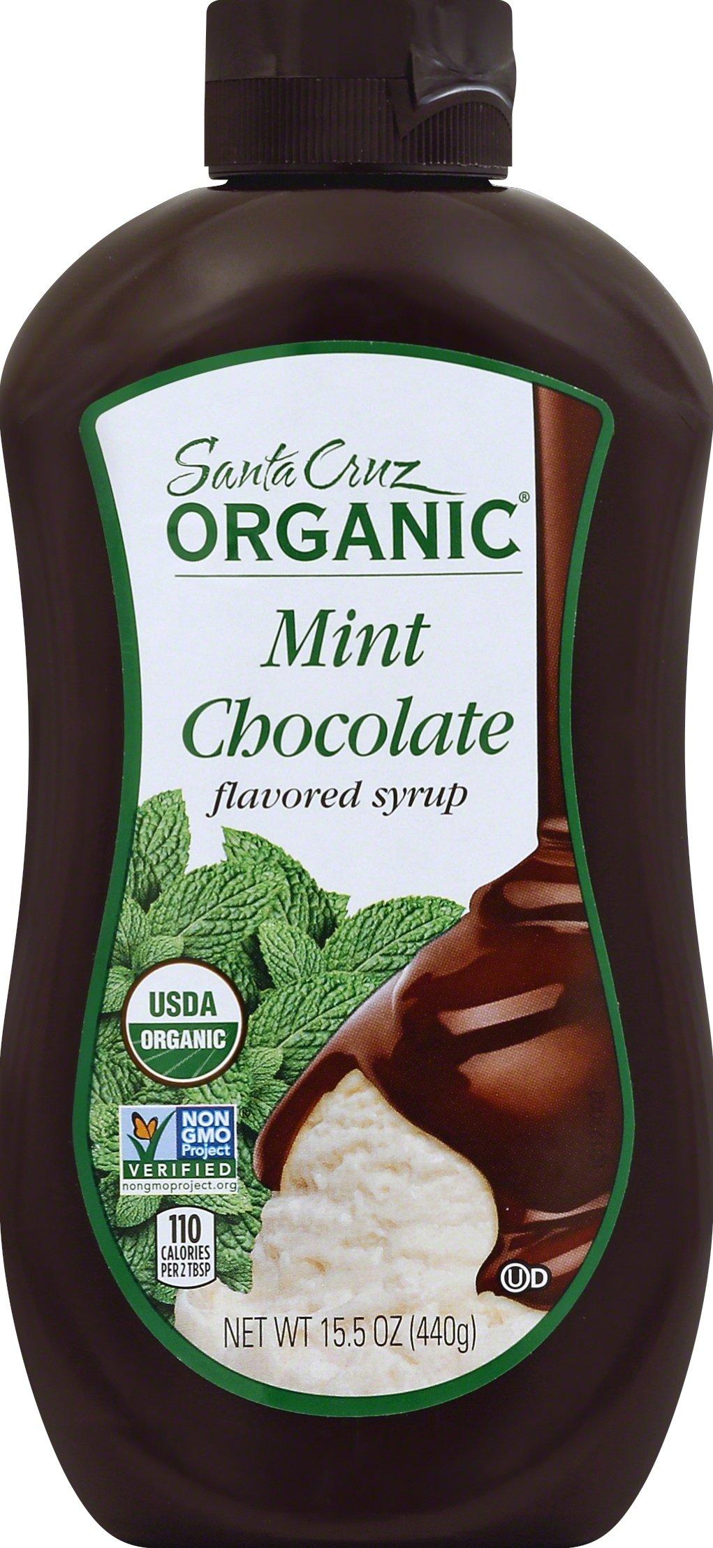 Santa Cruz Organics Mint Chocolate Syrup, 15.5 oz