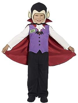 Desconocido Disfraz de vampiro para niño ideal para Halloween ...