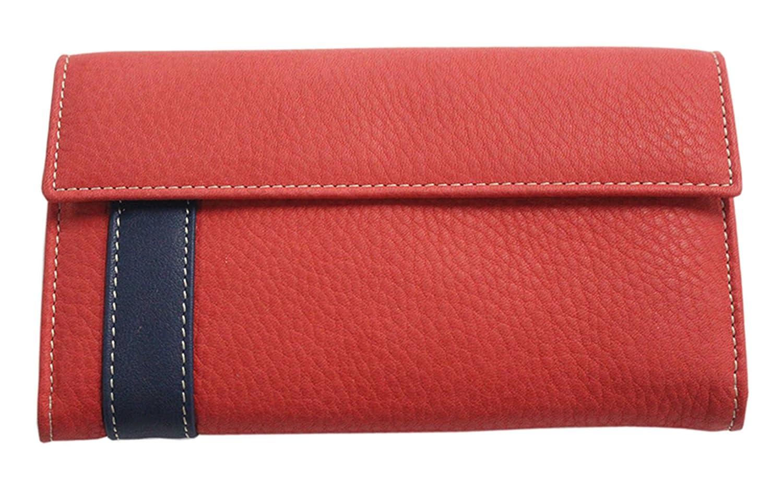 Billetera de señora Piel de Ubrique roja 16 cms: Amazon.es ...