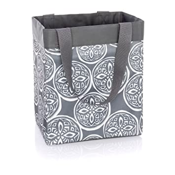 Superbe Thirty One Essential Storage Tote In Woodblock Whimsy   No Monogram   4446