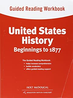 Amazon united states history beginnings to 1877 2013 holt united states history guided reading workbook beginnings to 1877 fandeluxe Gallery