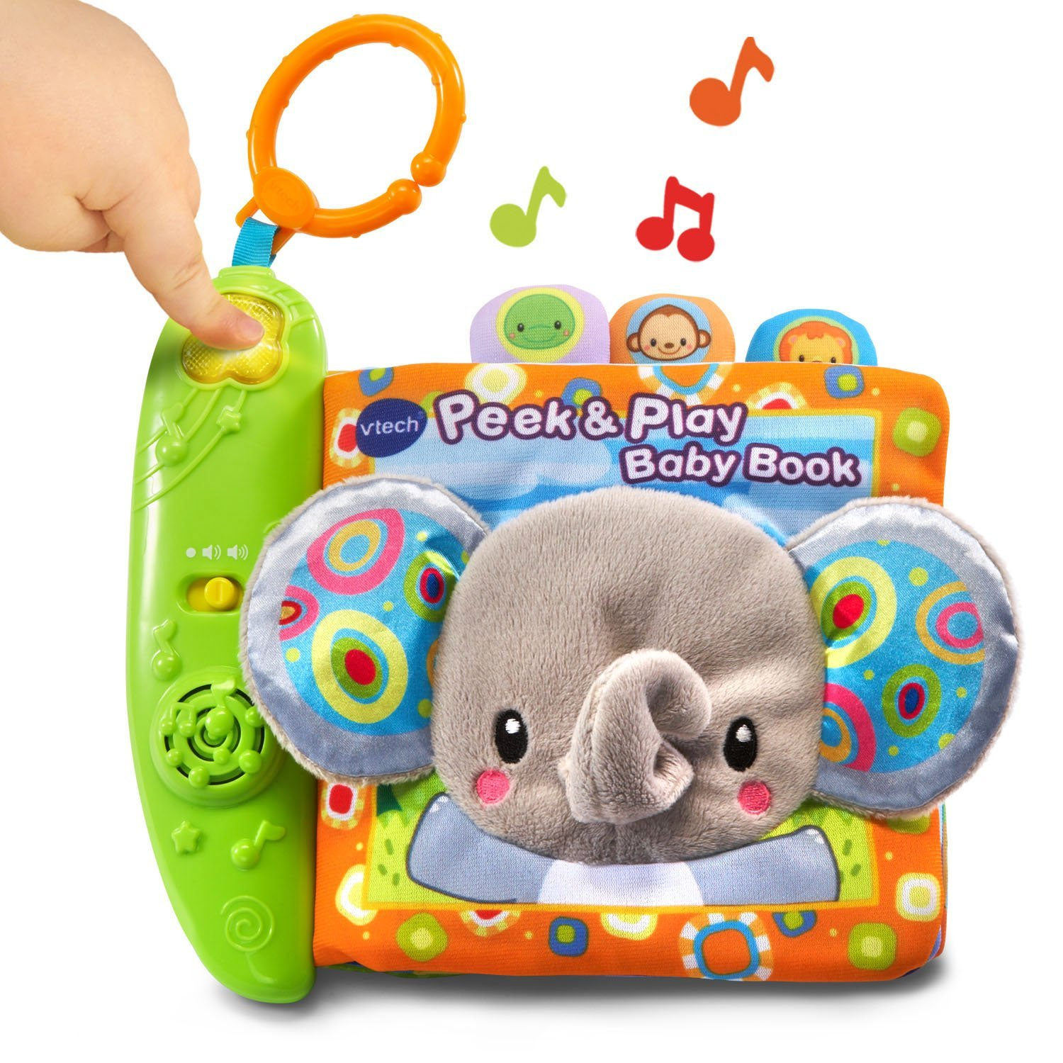 Amazon VTech 80 Peek & Play Baby Book Toy Toys & Games