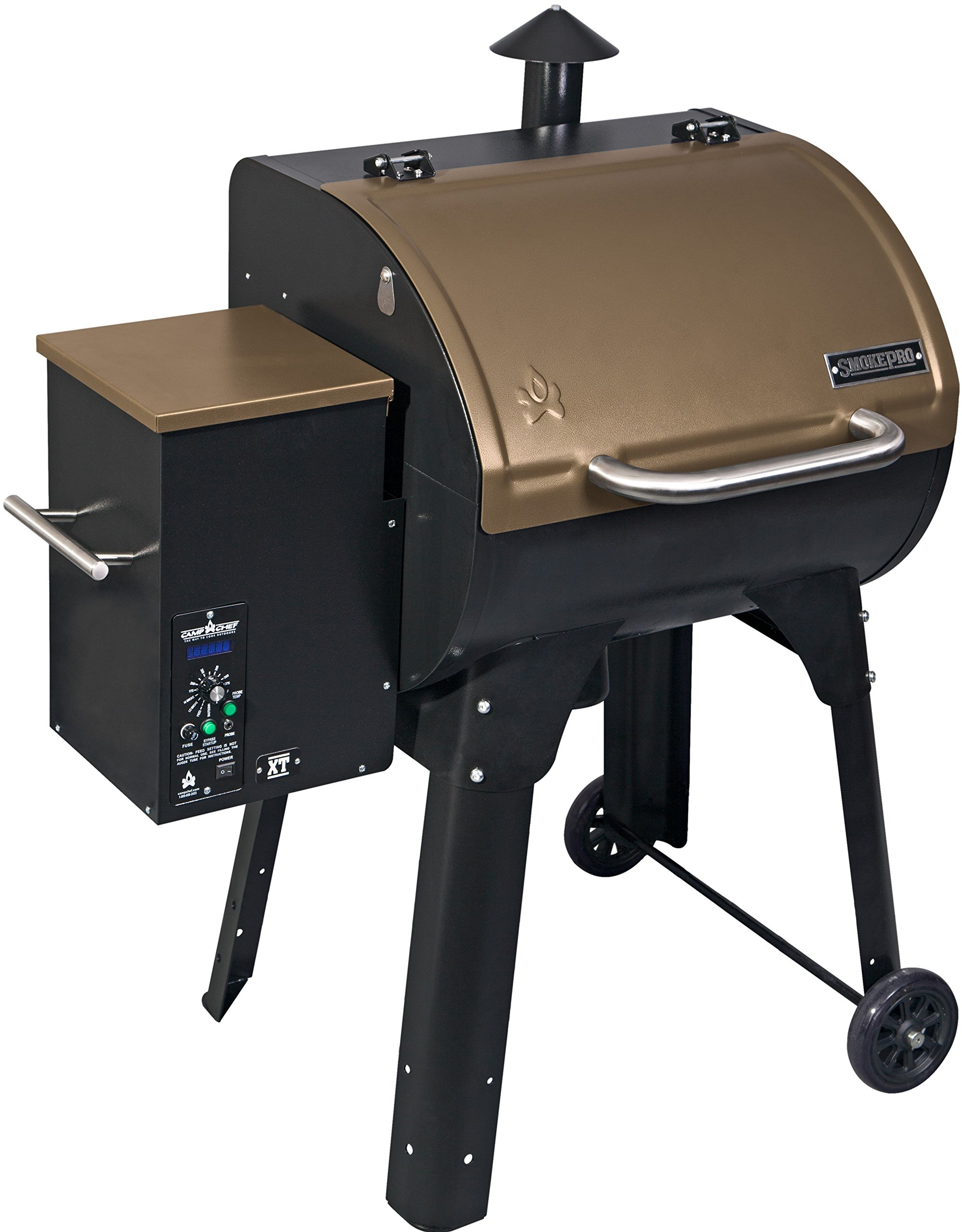 Camp Chef SmokePro XT Wood Pellet Grill Smoker, Bronze (PG24XTB) by Camp Chef