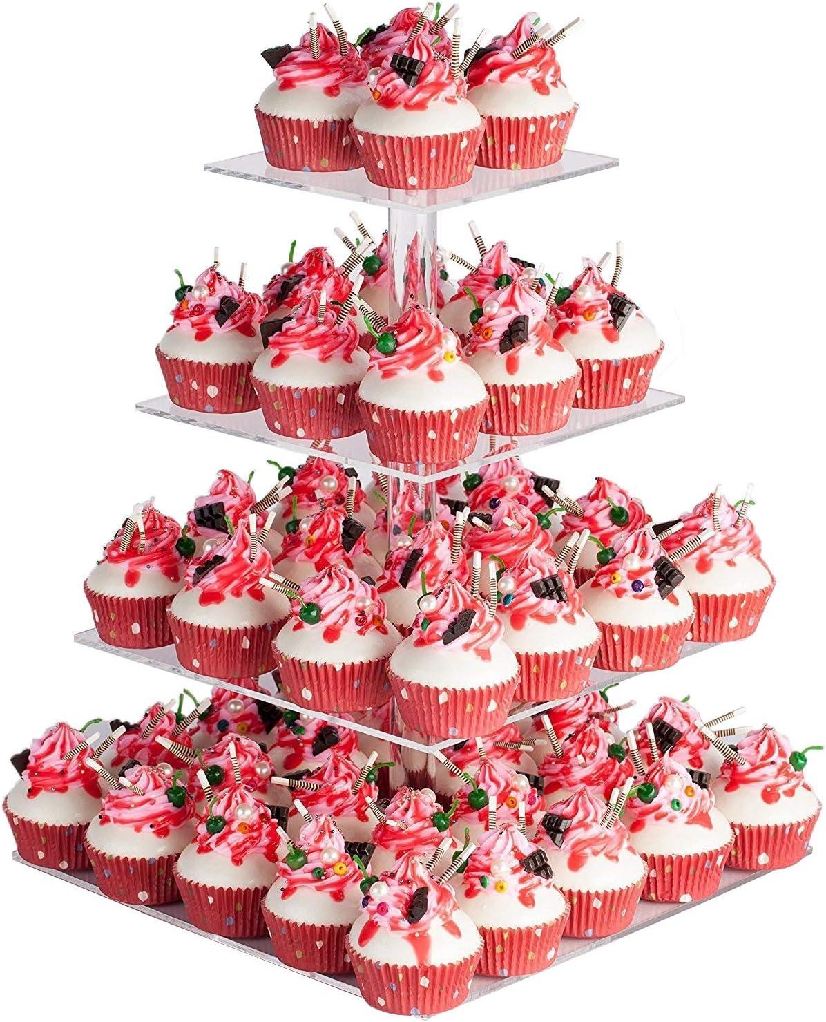 11 Cup Cupcake Stand Dessert Wedding Birthday Cake Assembly Display Tree