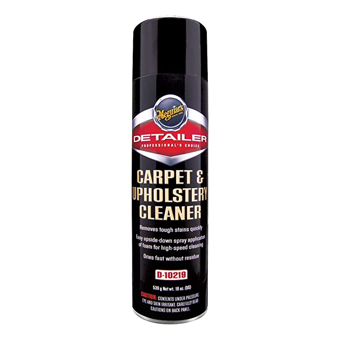 Amazon Com Meguiar S D10219 Carpet And Upholstery Cleaner 19 Oz