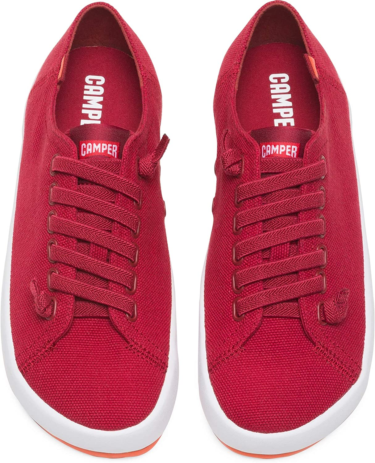 Camper Chaussures Femme Baskets 21897-047 Red Red