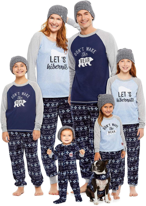 Jammin Jammies Family Lets Hibernate Matching Pajama Set