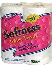 Valterra Q23630 Softness 2-Ply Toilet Tissue, (Pack of 4)