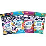 Welch's Fruit Snacks, Bulk Variety Pack with Mixed Fruit, Superfruit Mix, Island Fruits & Berries 'n Cherries, Gluten Free, Bulk Pack, 2.25 oz  (Pack of 48)