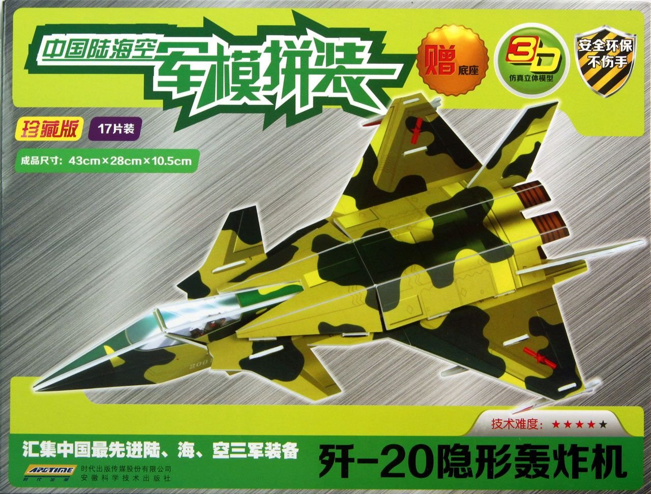 J-20 Stealth Bombers(Collectors Edition: 17 Pieces) (Chinese Edition) ebook