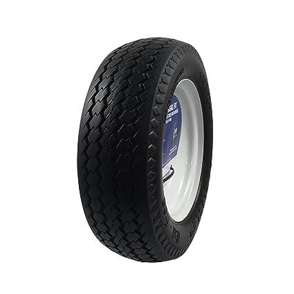 4 Marathon Universal Fit Flat Free Hand Truck//All Purpose Utility Tire on Wheel