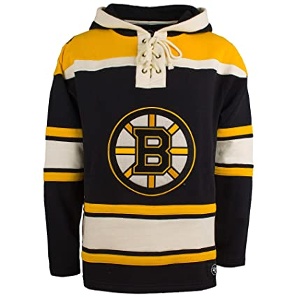 release date 58b56 9a6f6 Amazon.com : '47 Boston Bruins NHL Heavyweight Jersey Lacer ...