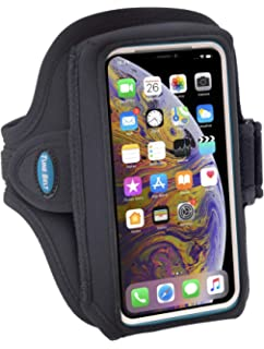 free shipping 6cf2f ff3e2 Amazon.com: Sweat Resistant Armband Fits iPhone Xs Max XR X 8 7 6 6s ...