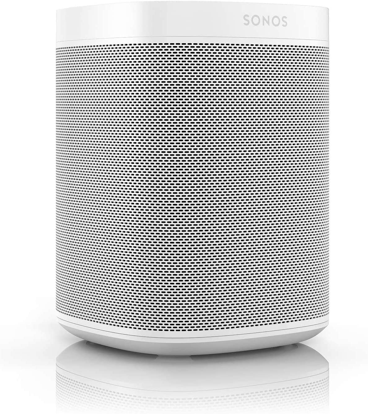 Sonos One (Gen 2) - Voice Controlled Smart Speaker with Amazon Alexa Built-in - White