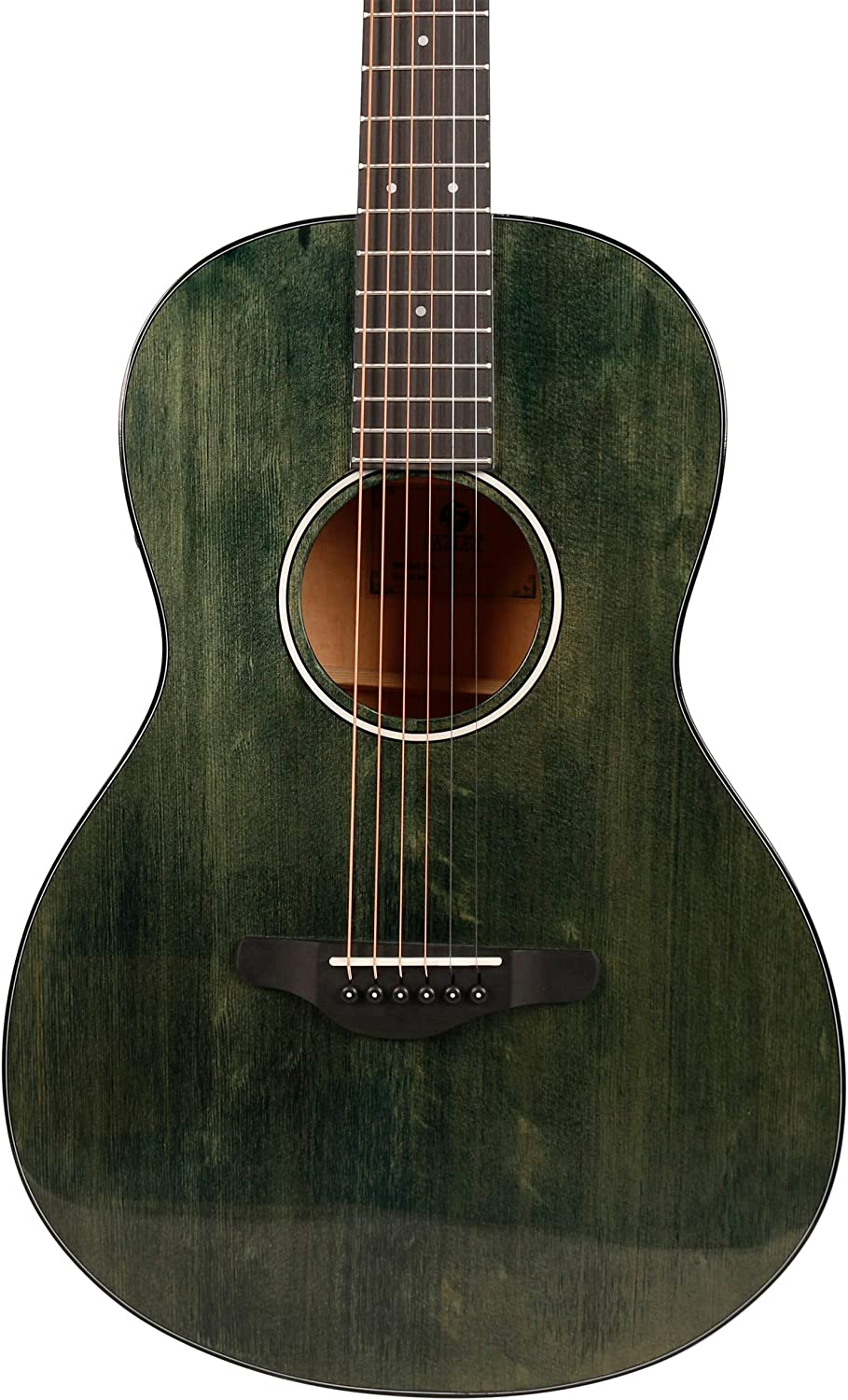 Fazley W120-PGR-P ColourTune Electro-Acoustic Guitar with Gig Bag Green