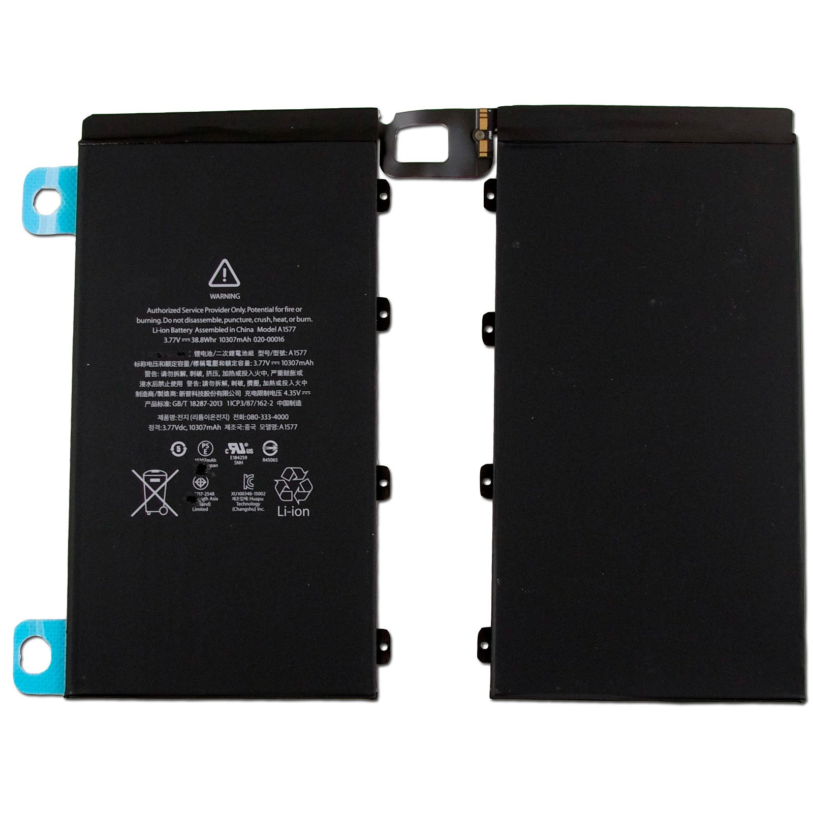 CBK 10307mAh 38.8Wh Internal Battery Replacement For Apple iPad Pro 12.9 A1577