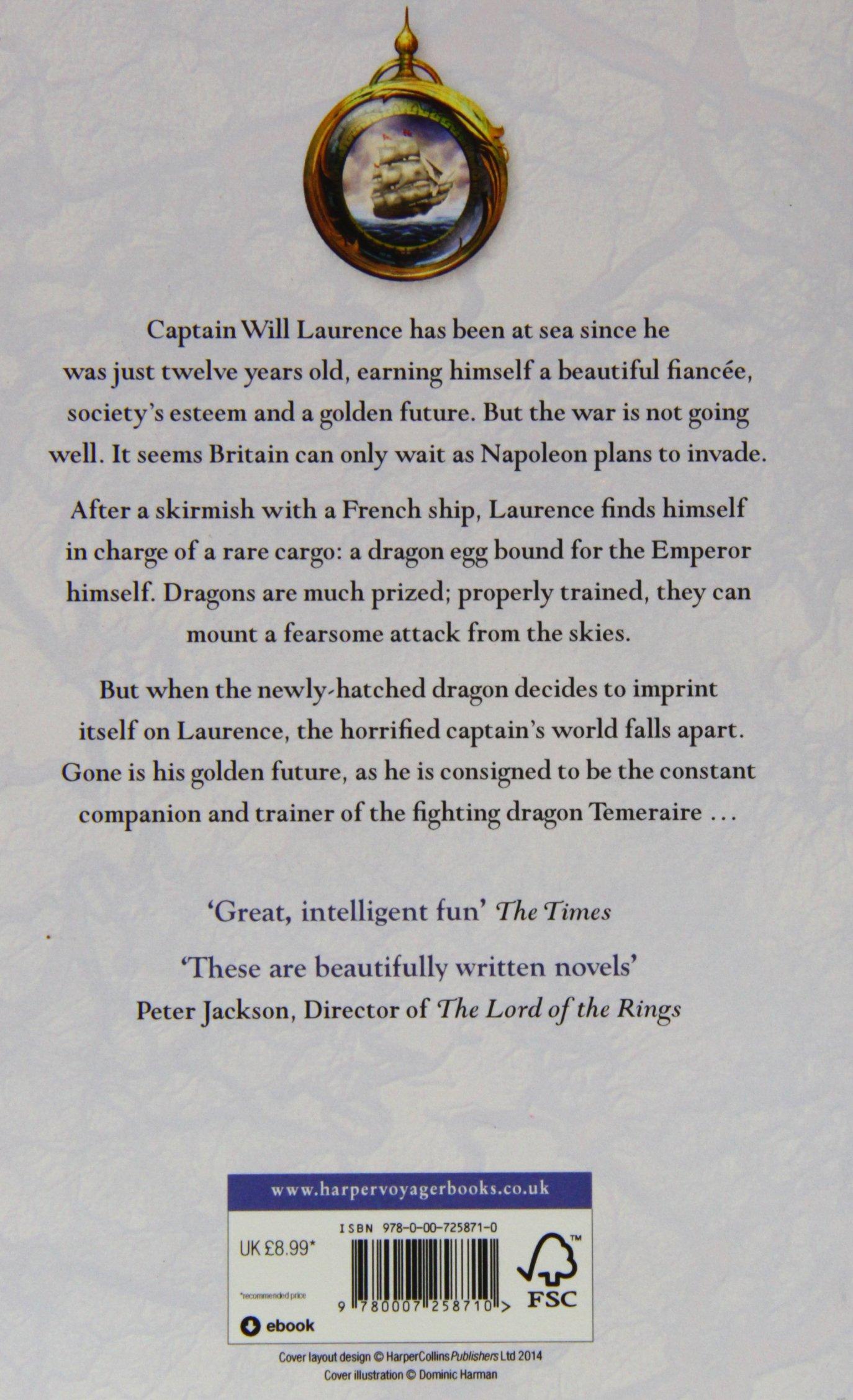 Temeraire (temeraire 1) [aka His Majesty's Dragon]: Amazon: Naomi  Novik: 9780007258710: Books