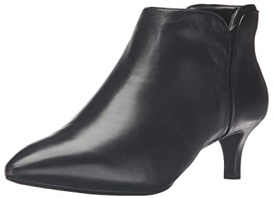 Rockport Women's Total Motion Kalila Bootie Boot, Black Leather, ...