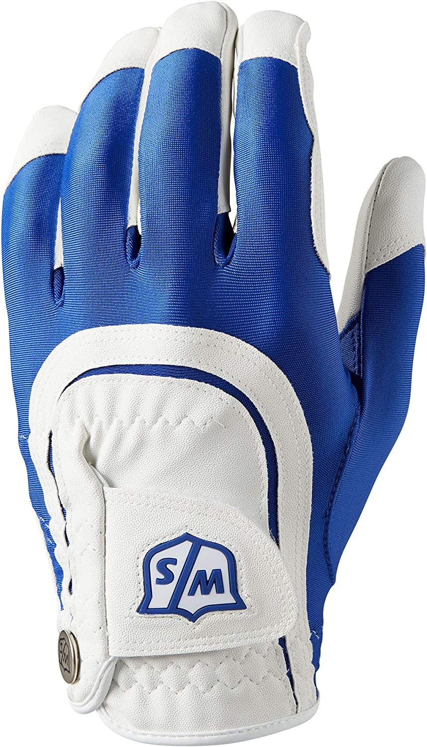 Wilson Staff Fit All Golf Glove, Men's (Worn On Left Hand)