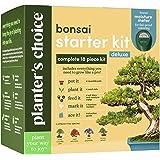 Bonsai Tree Growing Kit - Grow 4 Indoor Bonsai Trees - Plant a Garden from Seeds - Unique Gardening Gifts for Women & Men Gar
