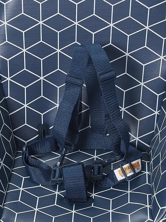Vertbaudet Chaise Haute évolutive 2 hauteurs TopSeat Bleu
