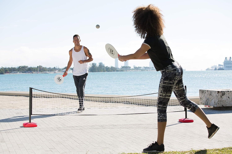 Amazon.com: Wicked Big Sports Paddle Battle - Juego de bolas ...