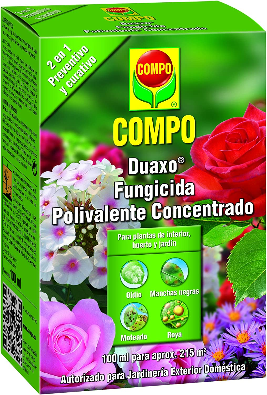 Compo 1441402011 Duaxo Fungicida Polivalente Concentrado 100 ml, 13x9x5 cm