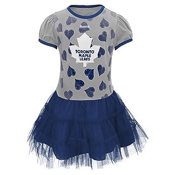 san francisco 1c1a2 97a44 Toronto Maple Leafs Infant Girls Love To Dance Tutu Dress