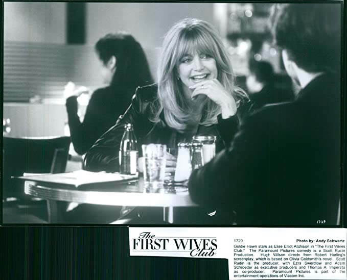 Amazon Vintage Photo Of Goldie Hawn Smiling In The Set Of The