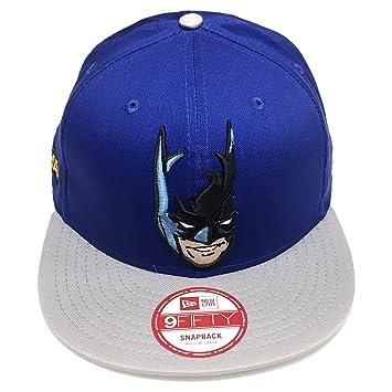 269bc454e ... purchase new era dc comics hero batman hat cabesa punch 2 9fifty royal  blue snapback cap