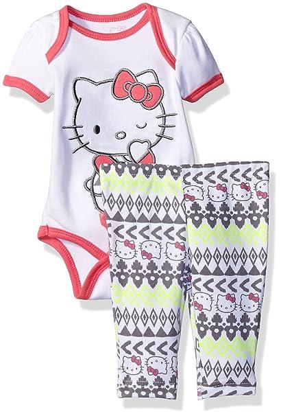 Amazon.com: Hello Kitty - Conjunto de pantalones y camiseta ...