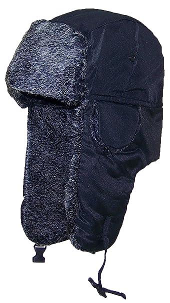 Best Winter Hats Men Lightweight Russian Aviator Faux Fur Hat (One Size)- e59d6f312a4