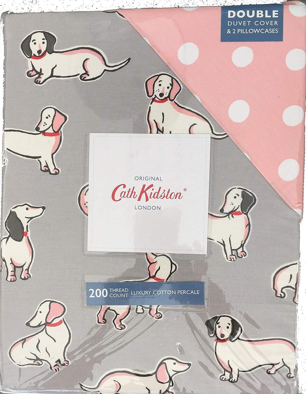 51e063c19d45 CATH KIDSTON Mono Dog DOUBLE Duvet Set Pale, Grey: Amazon.co.uk: Kitchen &  Home